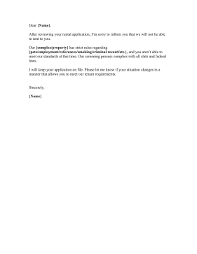 Applicant Rejection Letter Samples from cdn.rejectionletters.net